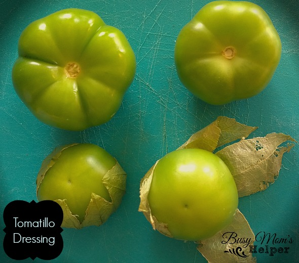 Tomatillo Dressing by Nikki Christiansen for Busy Mom's Helper