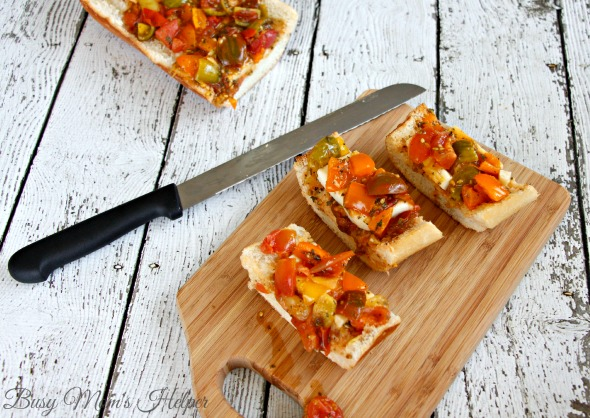Heirloom Tomato Caprese Bruschetta / by Busy Mom's Helper