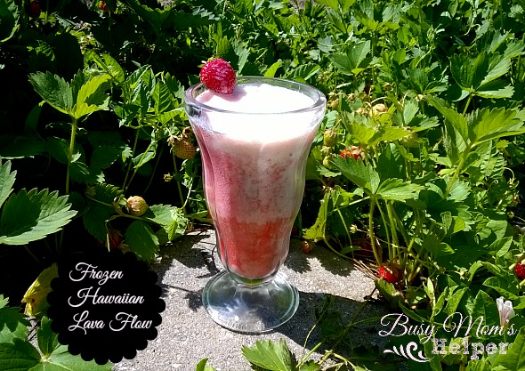 Frozen Hawaiian Lava Flow by Nikki Christiansen for Busy Mom's Helper