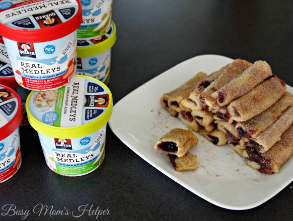 Simple Blueberry French Toast Sticks / by Busy Mom's Helper #QuakerRealMedleys #ad
