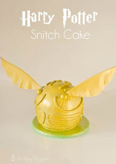 Harry Potter Snitch Cake / by Ashlee Marie / Round up by Busy Mom's Helper