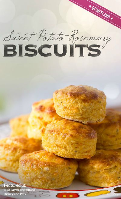 Sweet Potato-Rosemary Biscuits from Blue Bayou / Round up by Busy Mom's Helper