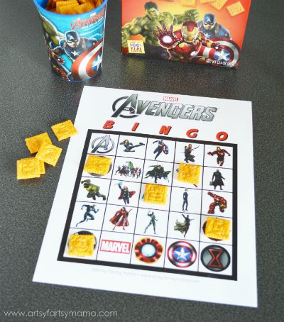 Avengers Bingo / Artsy Fartsy Mama / Round up by Busy Mom's Helper