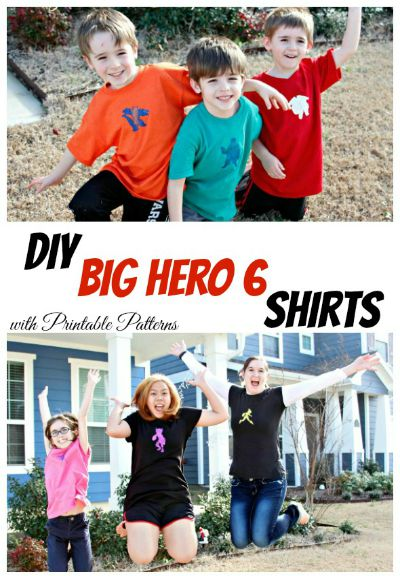 DIY Big Hero 6 Glitter Shirts / by Busy Mom's Helper