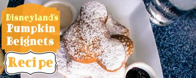 Disneyland Pumpkin Beignets / by Wonder and Company / Round up by Busy Mom's Helper