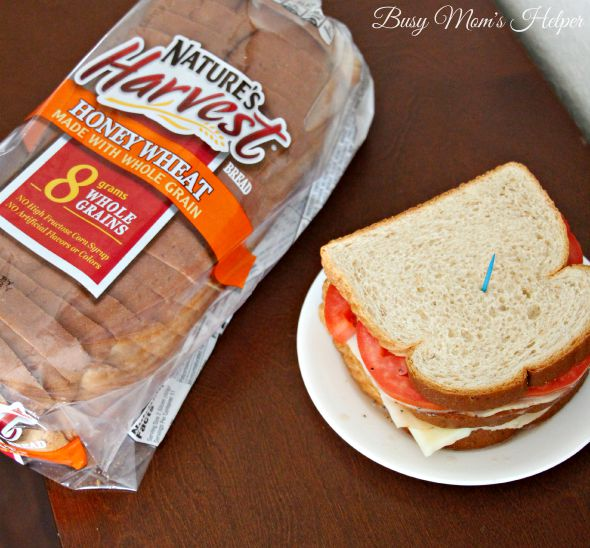 Sweet Teriyaki Marinated Sandwich / by Busy Mom's Helper #ad Nature's Harvest®Bread