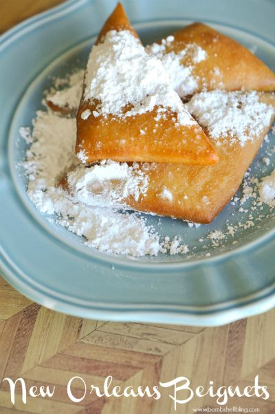 New Orleans Beignets / by Bombshell Bling / Round up by Busy Mom's Helper