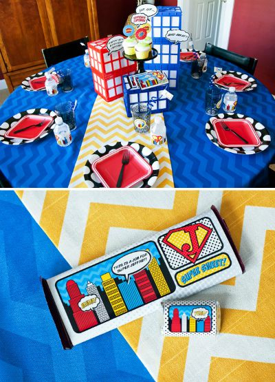 Comic Book Birthday Party / by Hostess with the Mostess Blog / Round up by Busy Mom's Helper