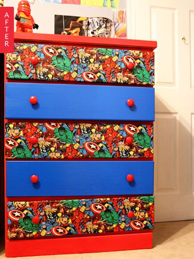 Heroic Dresser Makeover / by Apartment Therapy / Round up by Busy Mom's Helper