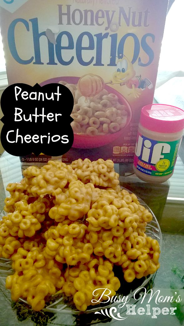 Peanut Butter Cheerios by Nikki Christiansen for Busy Mom's Helper