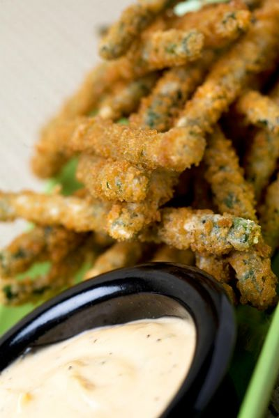 Trader Sam's Panko-Crusted Long Beans / Disneyland Resort / by Sasaki Time / Round up by Busy Mom's Helper