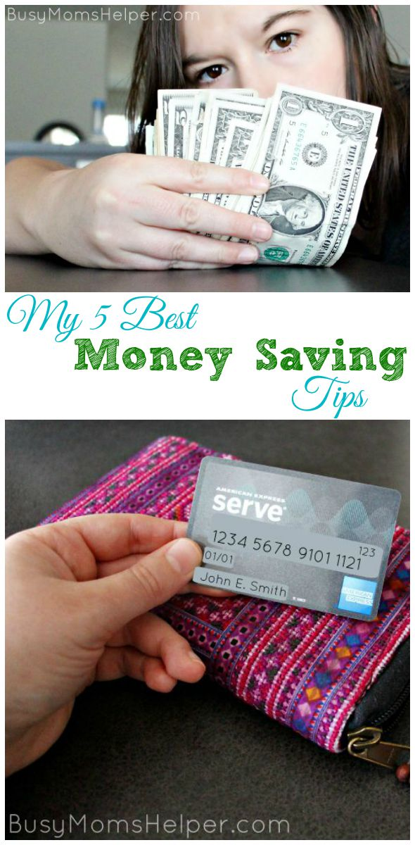 My 5 Best Money Saving Tips / by Busy Mom's Helper #ServeSomeGood #IC #ad