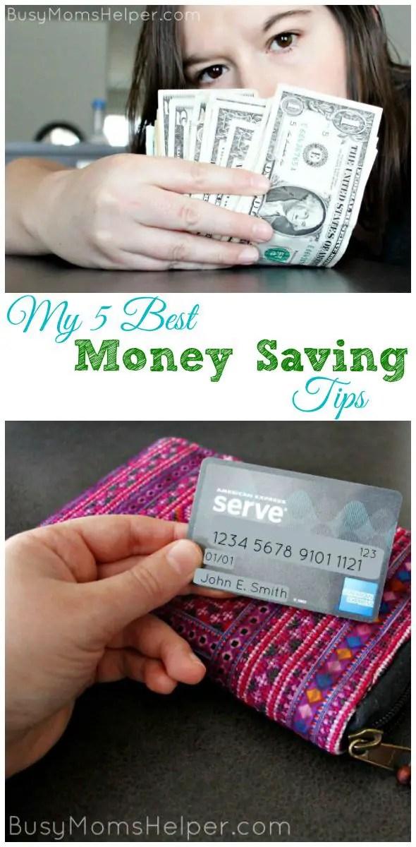 My 5 Best Money Saving Tips / by Busy Mom's Helper #ServeThemGood #IC #ad