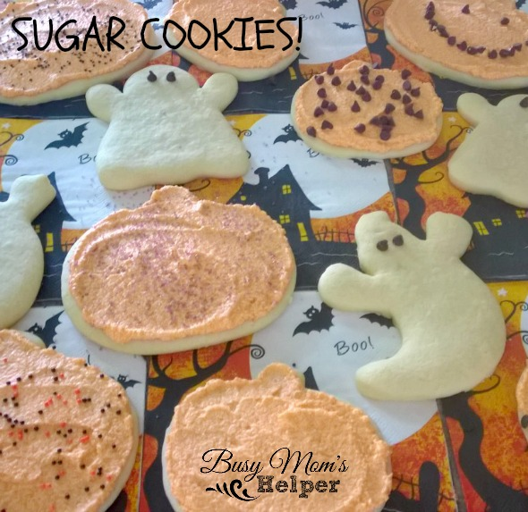 Sugar Cookies! by Nikki Christiansen for Busy Mom's Helper