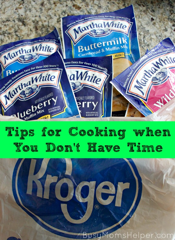 Tips for Cooking When You Don't Have Time / by Busy Mom's Helper #CMAawards #Ad