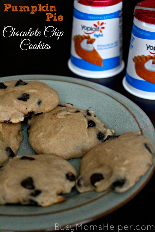 Pumpkin Pie Chocolate Chip Cookies / by Busy Mom's Helper #SnackandSmile #ad