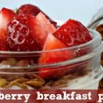strawberry breakfast parfait feature