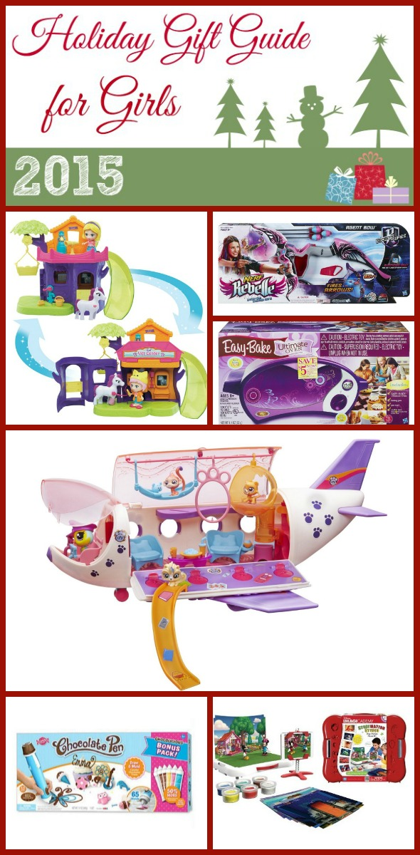 Holiday Gift Guide for Girls 2015 / by Busy Mom's Helper #sponsored