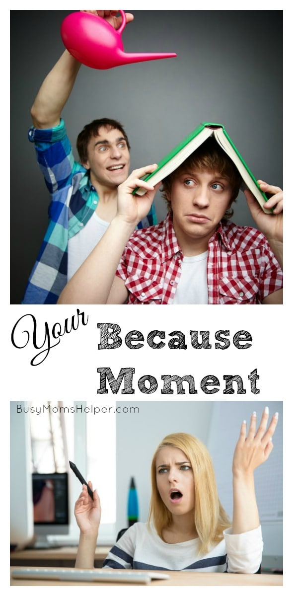 Your Because Moment / by BusyMomsHelper.com #BecauseMoment #IC #ad