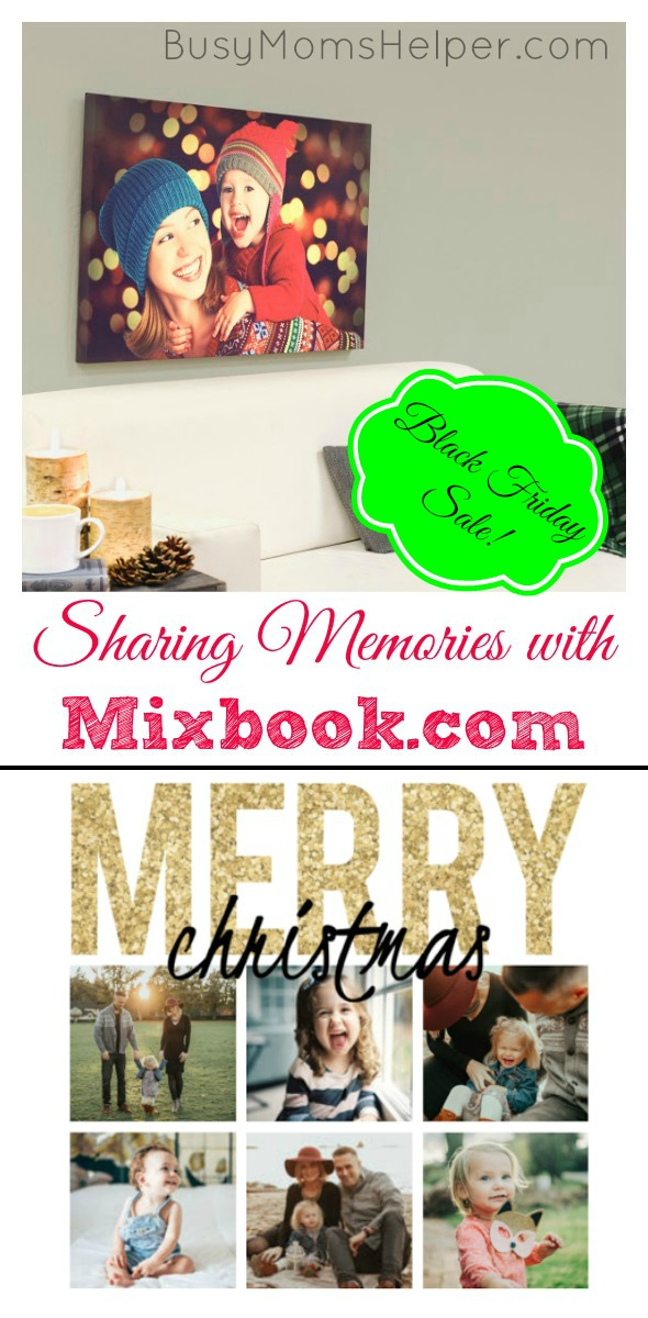Sharing Memories with Mixbook / by BusyMomsHelper.com #ad @Mixbook