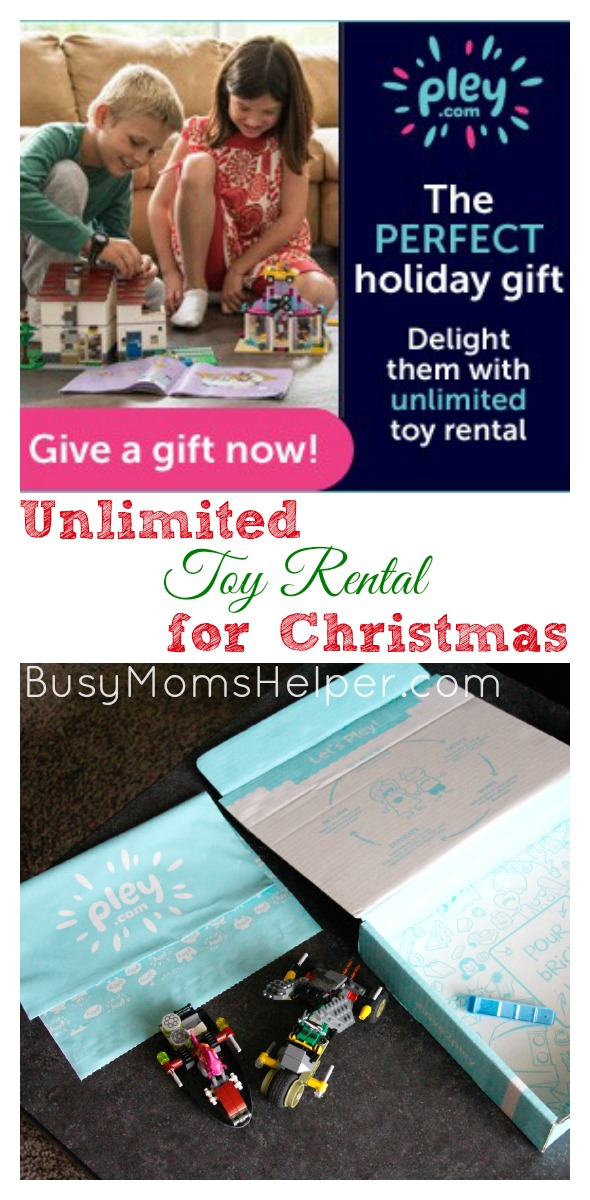 Unlimited Toy Rental for Christmas / by BusyMomsHelper.com #ad Pley.com Toy Rentals
