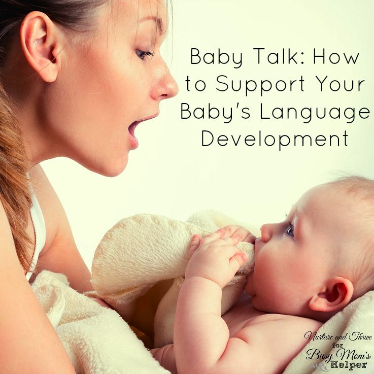 Tips from a child psychologist on how to support your baby's language