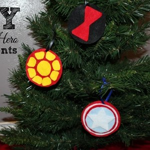 DiY Super Hero Ornaments | One Mama's Daily Drama for Busy Mom's Helper