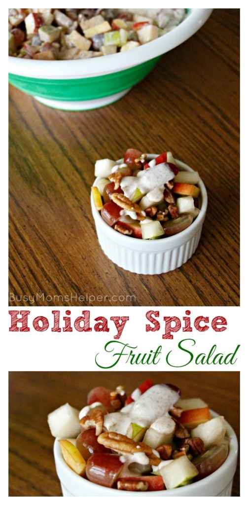 Holiday Spice Fruit Salad / by BusyMomsHelper.com