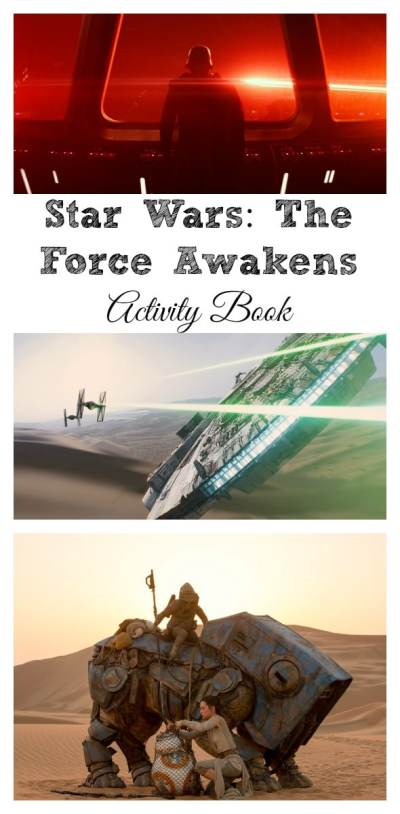 Star Wars: The Force Awakens Activity Book Free Printables / by Busy Mom's Helper