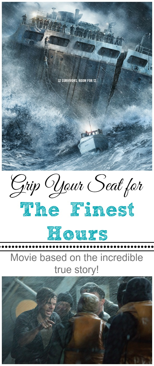 Grip Your Seat for The Finest Hours: Movie Review by BusyMomsHelper.com