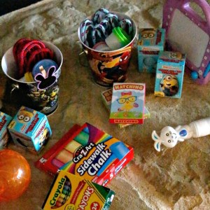 Budget Friendly Easter Basket Ideas / by BusyMomsHelper.com (sponsored) / Non Candy Easter Ideas