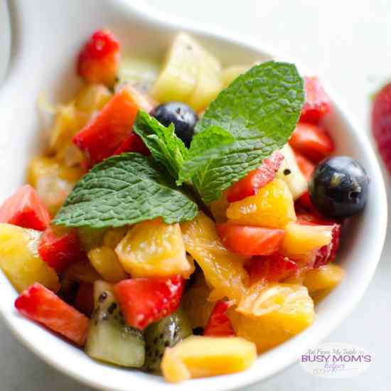 sugar free fruit salsa cinnamon chips