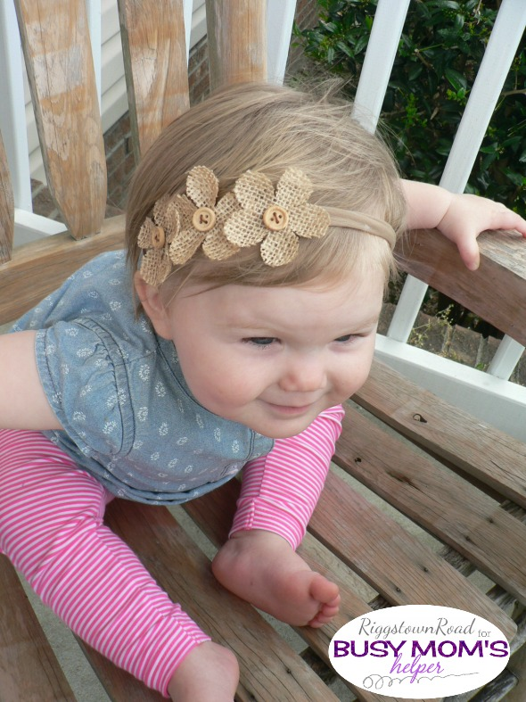 zero cost headband by Riggstown Road for Busy Mom's Helper