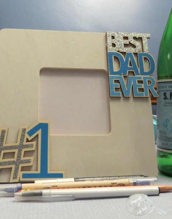 2016 D&LP Craft Lightning Fathers Day 15 minutes Glue Best Dad Ever