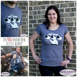 How To Fist Bump Shirts / by BusyMomsHelper.com / Order for a limited time!
