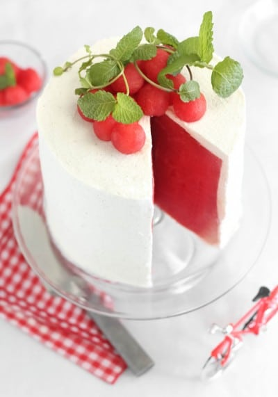 Fresh Watermelon Cake SprinkleBakes 2