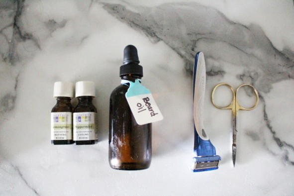 DIY Beard Oil / DIY Father's Day Gift / Great and easy gift idea's for dad