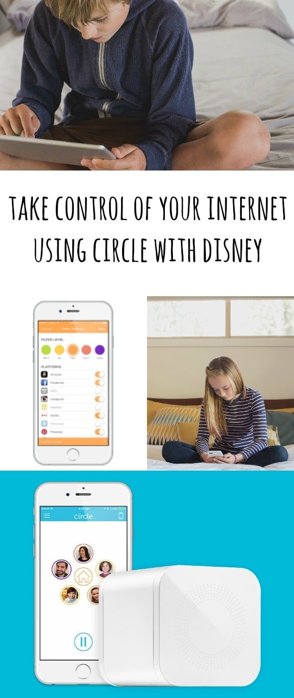 Take Control of Your Internet using Circle with Disney / by BusyMomsHelper.com / Keep your kids safe online / internet safety / parental controls for internet