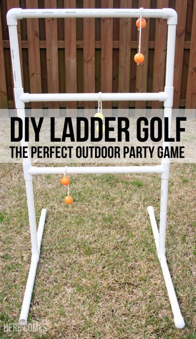 DIY Ladder Golf Title