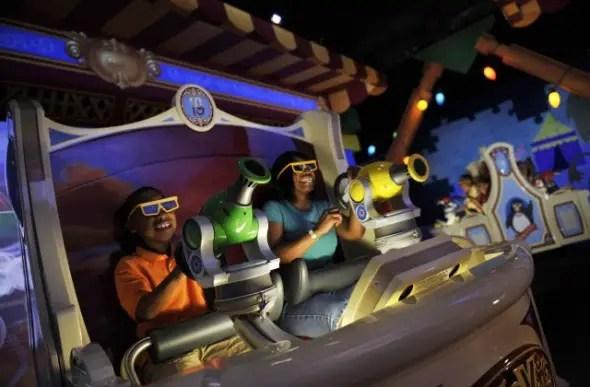 Walt Disney World Summer 2016 / new track on Toy Story Mania