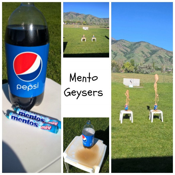 Mento Geysers by Nikki Christiansen for Busy Mom's Helper