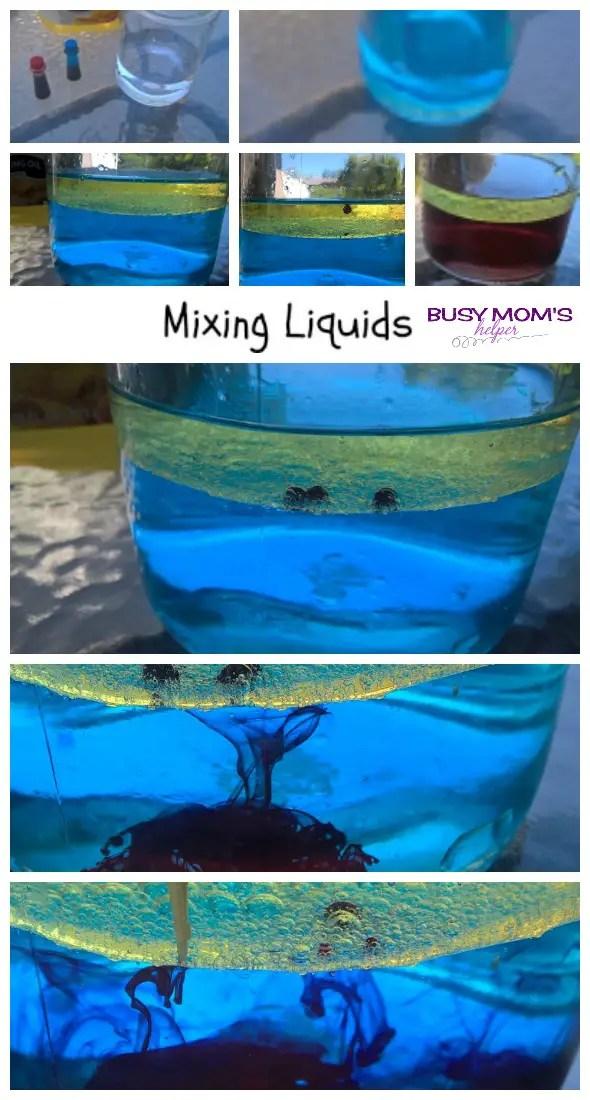 Summer Science Water & Liquids by Nikki Christiansen for Busy Mom's Helper
