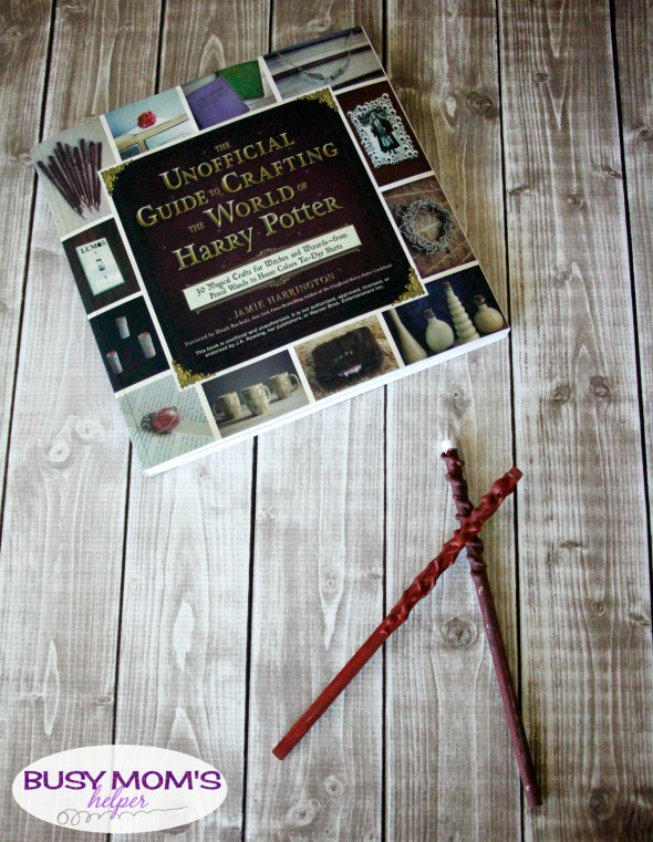 The Unofficial Guide to Crafting the World of Harry Potter / by BusyMomsHelper.com #ad