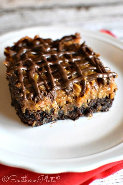 bright root samoa brownies