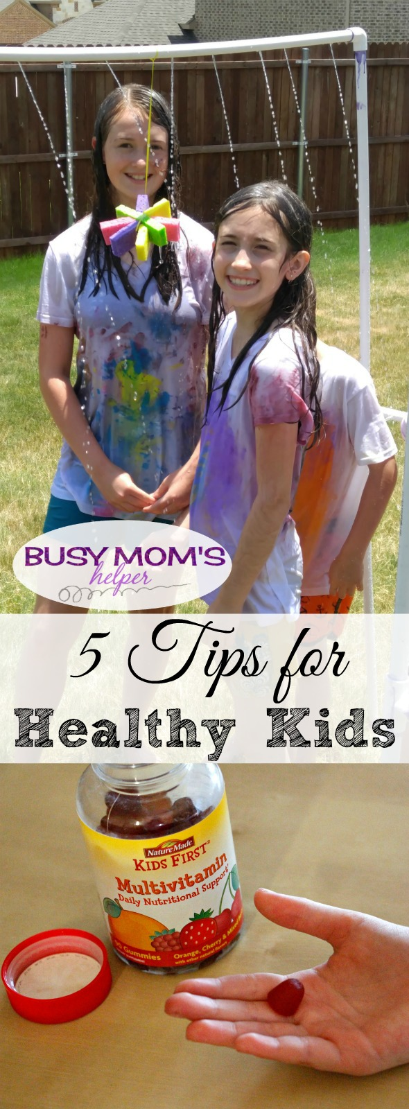 5 Tips for Healthy Kids #NatureMadeAtTarget #IC #ad