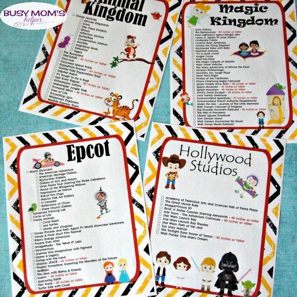 photograph about You Re Going to Disney World Printable identify Totally free Printable Walt Disney Environment Journey Checklists - Occupied Mothers