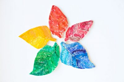 10-rainbow-salt-dough-leaves