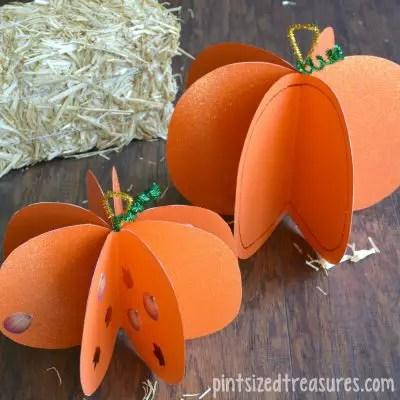 Fun-fall-craft-a-paper-pumpkin-Easy-enough-for-kids