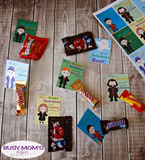 Printable Harry Potter Halloween Cards / by BusyMomsHelper.com