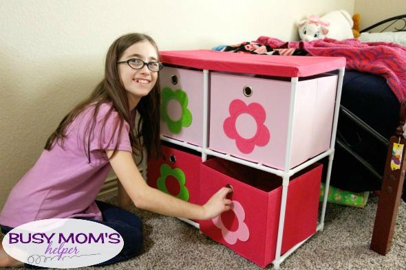 Organization for kids / Organizing their toys, clothes and more! #ad